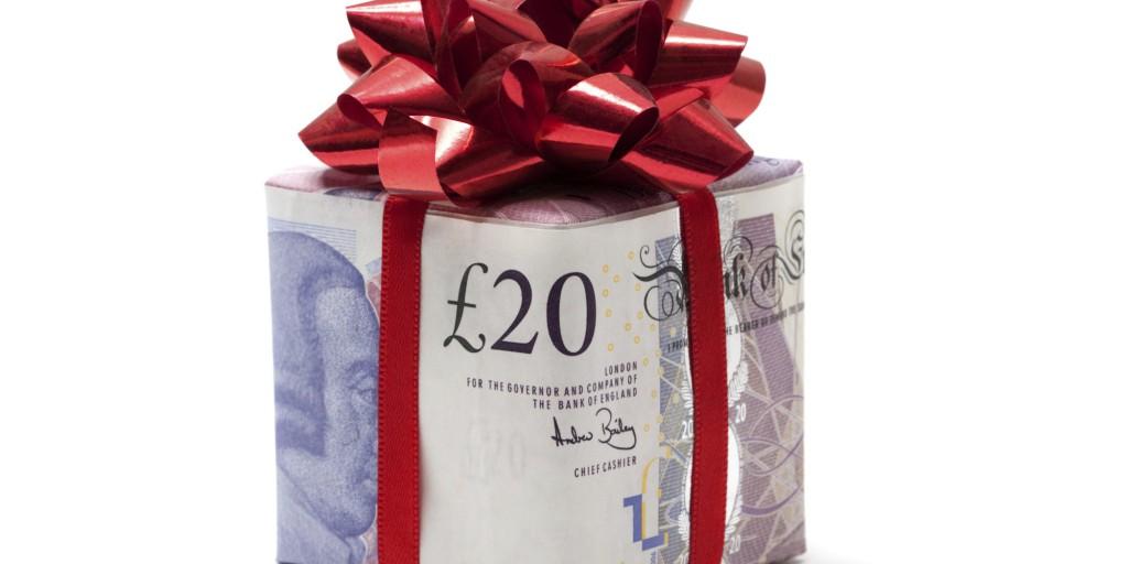 Pound gift